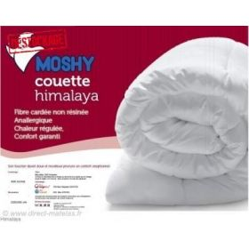 Pack Confort MOSHY - Couette 240x220 + 2 oreillers 60x60