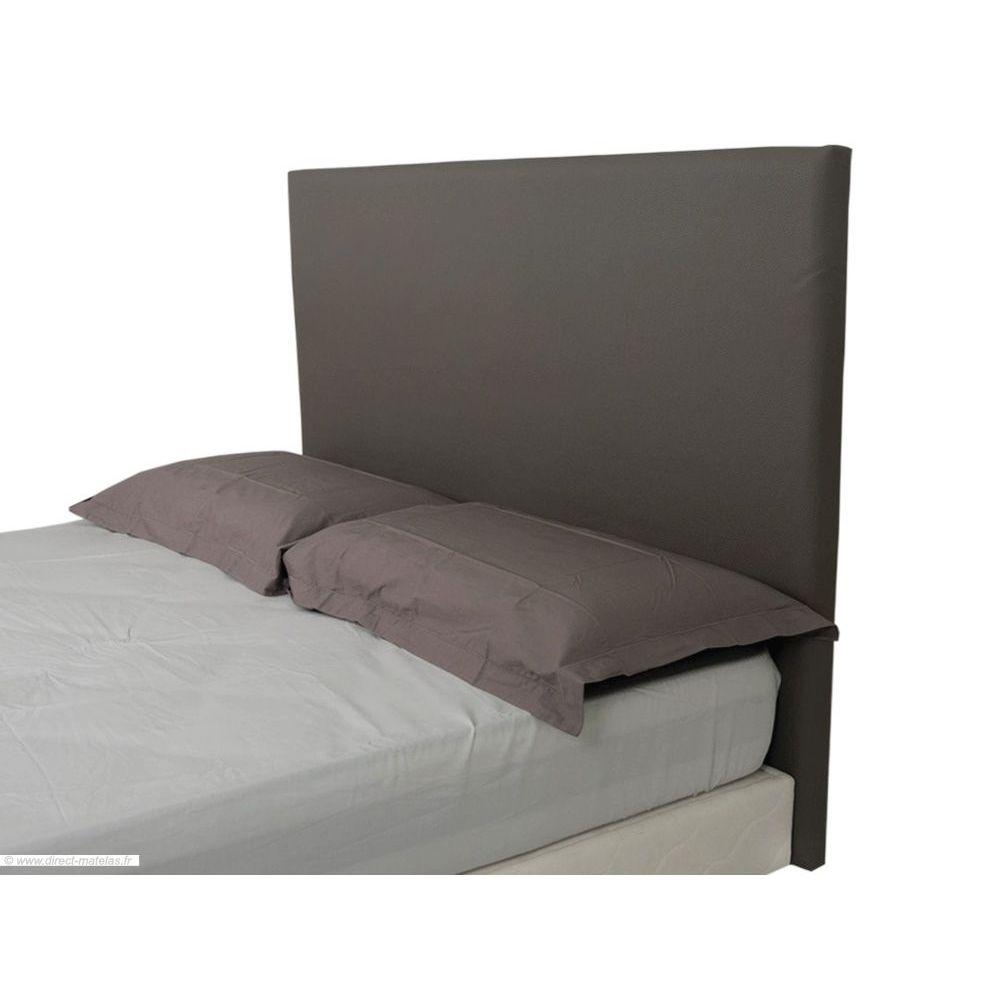 t te de lit alice taupe d m 140. Black Bedroom Furniture Sets. Home Design Ideas