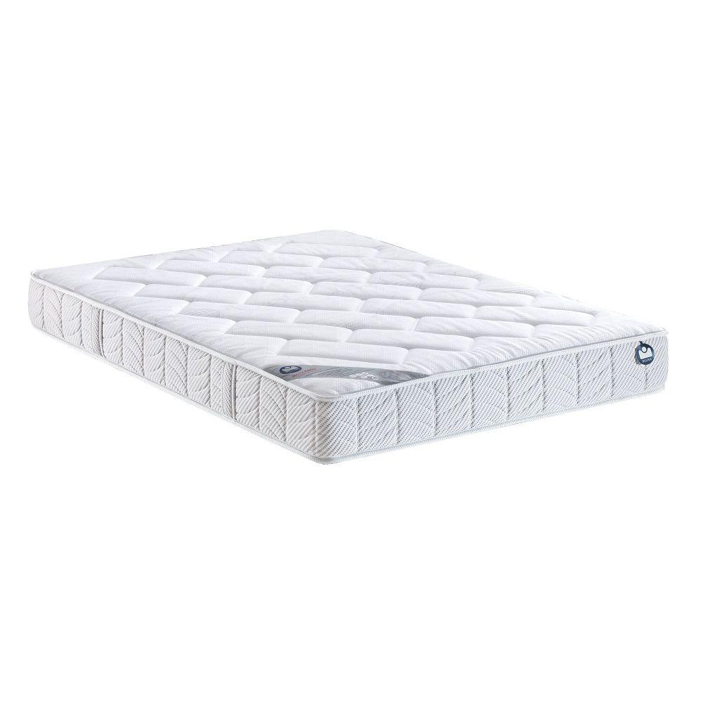 pack 140x190 matelas bultex yacano sommier bultex ferme pieds de lit cylindriques. Black Bedroom Furniture Sets. Home Design Ideas