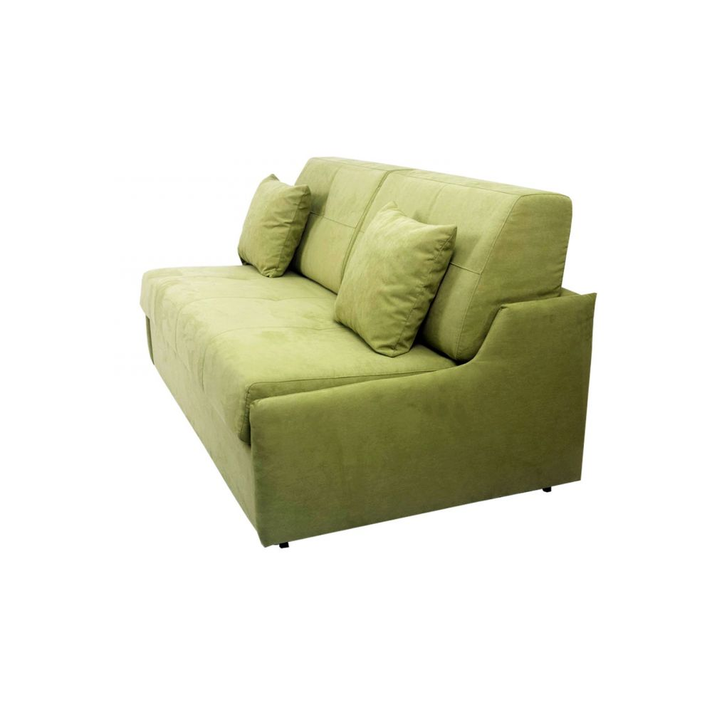 canap convertible d m jim micro vert amande. Black Bedroom Furniture Sets. Home Design Ideas