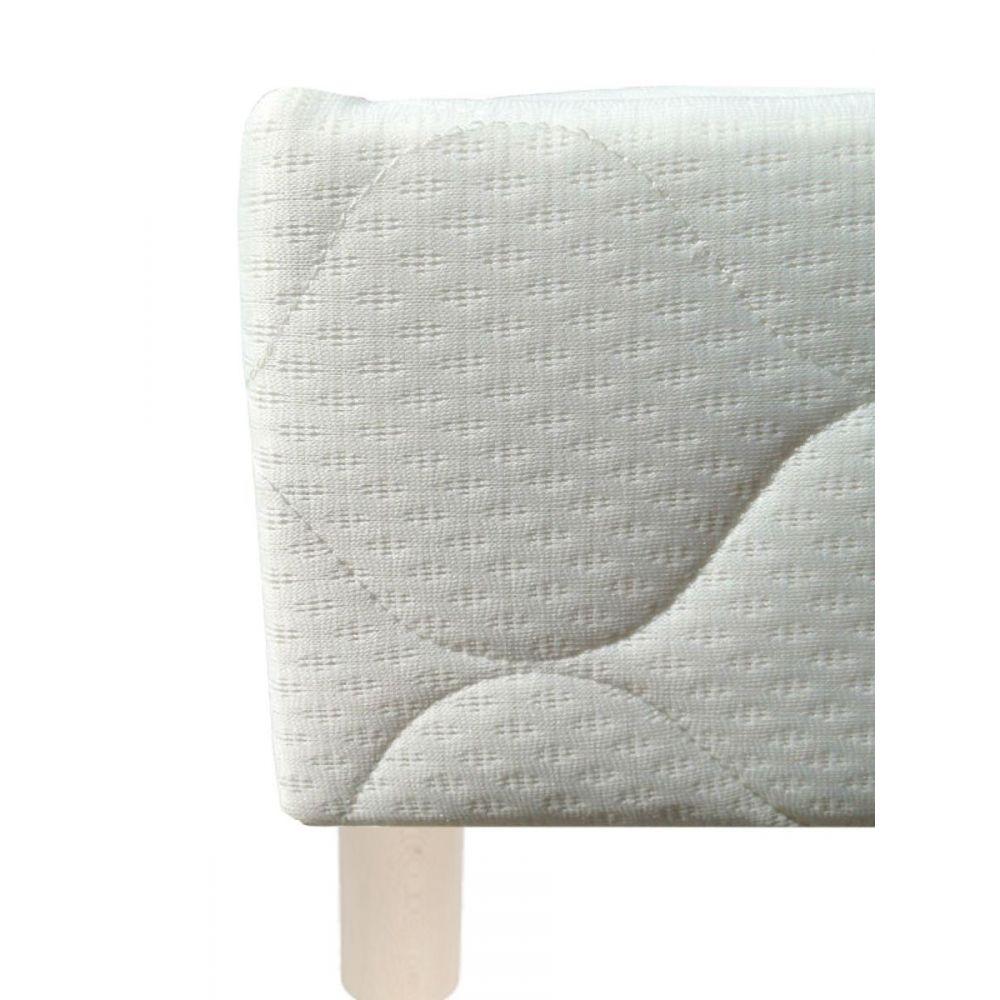 sommier d m selux tapissier lattes 160x200. Black Bedroom Furniture Sets. Home Design Ideas