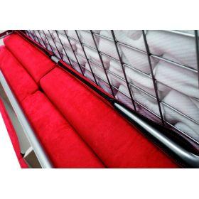 Canapé convertible D.M. ANTOINE Micro Rouge 921