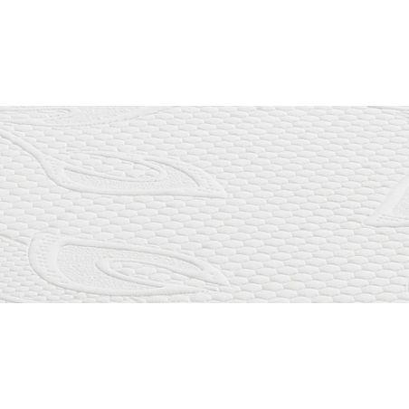 Pack 80x200 : Matelas DIRECT MATELAS MEMOTY + Sommier D.M. SELUX Tapissier lattes + Pieds de lit Cylindriques