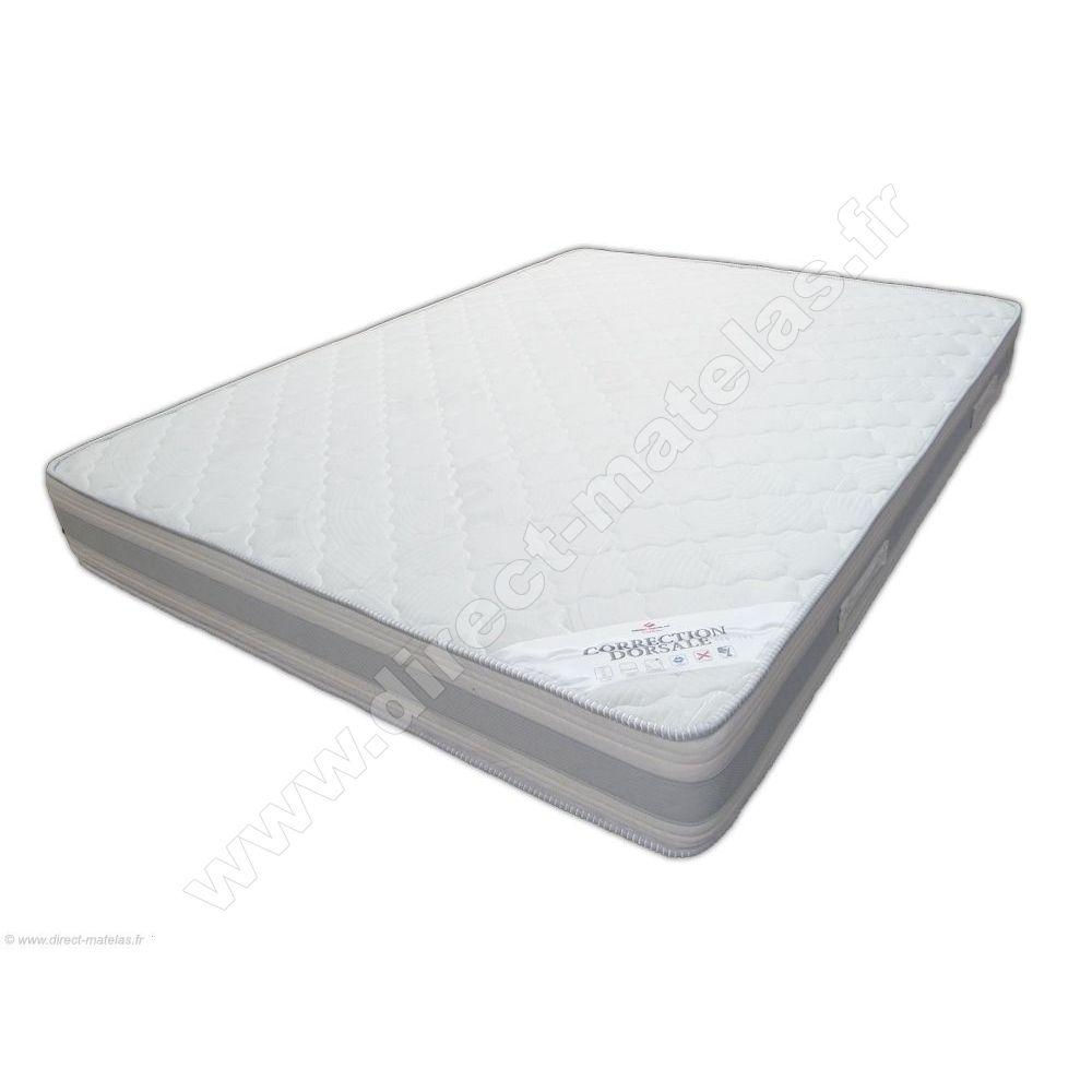 pack 140x200 matelas direct matelas correction dorsale. Black Bedroom Furniture Sets. Home Design Ideas