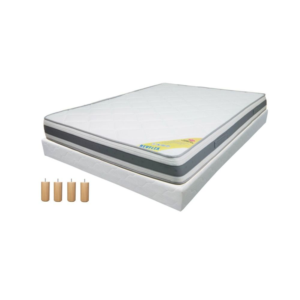 pack 160x200 matelas direct matelas revflex. Black Bedroom Furniture Sets. Home Design Ideas
