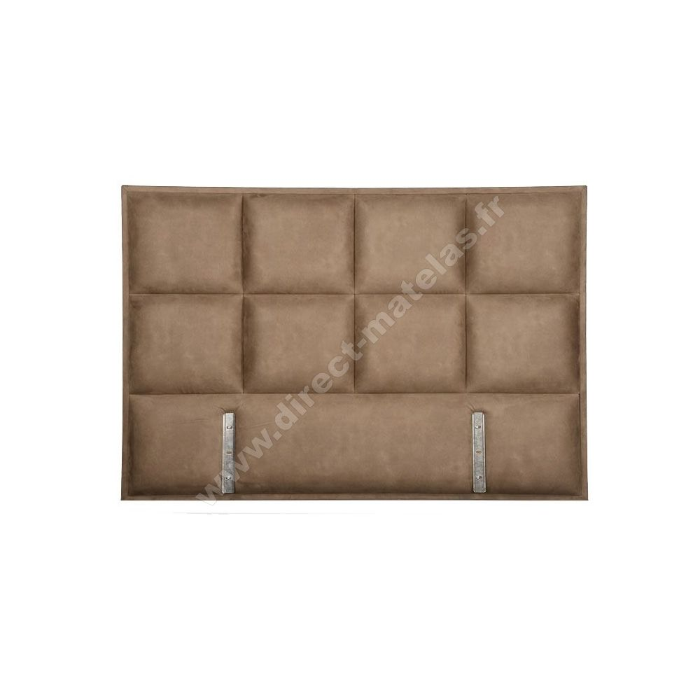 lit louisa 160x190 sable. Black Bedroom Furniture Sets. Home Design Ideas
