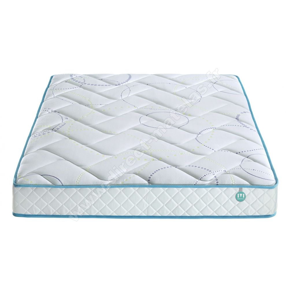 pack 80x190 matelas merinos g580 sommier d m solux tapissier lattes pieds de lit cylindriques. Black Bedroom Furniture Sets. Home Design Ideas