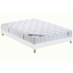 sommier et matelas bultex mousse cellules ouvertes 2. Black Bedroom Furniture Sets. Home Design Ideas