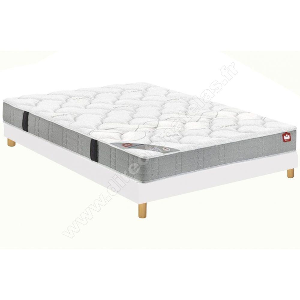 pack 160x200 matelas bultex sport ferme sommier dm selux tapissier lattes pieds de lit. Black Bedroom Furniture Sets. Home Design Ideas