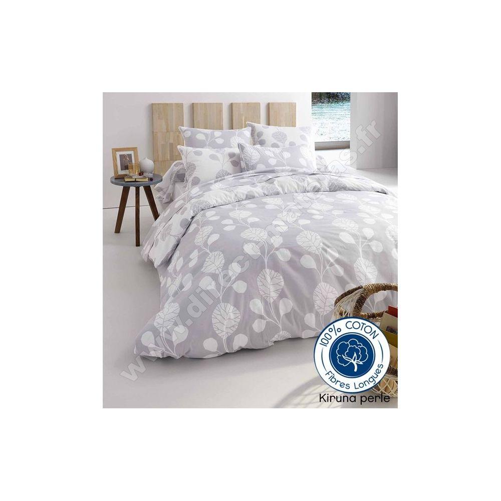 parure perle 3 pi ces tradilinge housse de couette 140x200 2 taies 65x65. Black Bedroom Furniture Sets. Home Design Ideas
