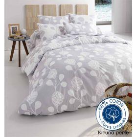 parure perle 3 pi ces tradilinge housse de couette 200x200 2 taies 65x65. Black Bedroom Furniture Sets. Home Design Ideas