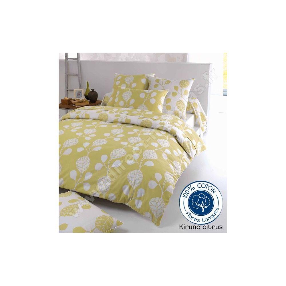 parure citrus 3 pi ces tradilinge housse de couette. Black Bedroom Furniture Sets. Home Design Ideas