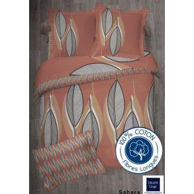 Parure SAHARA : 3 pièces TRADILINGE Housse de couette 240x220 + 2 taies 65x65