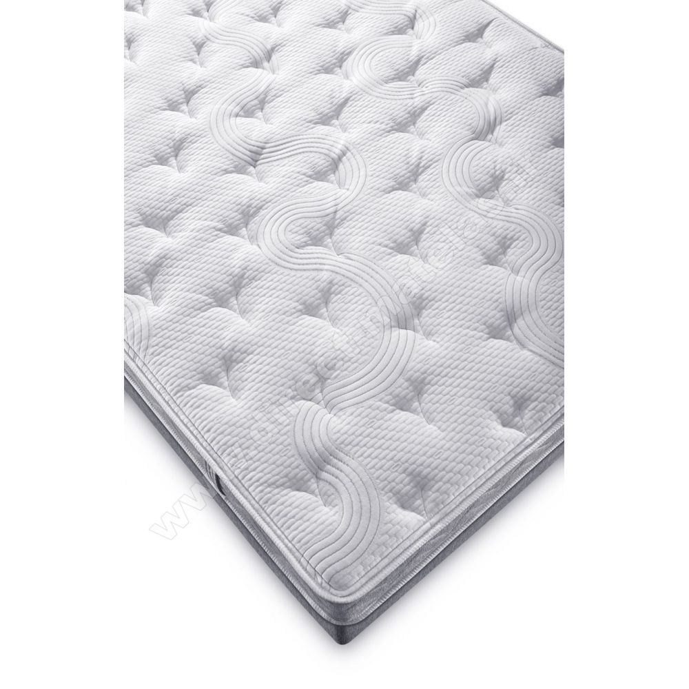 pack 160x200 matelas dunlopillo come back 100 latex sommier d m solux tapissier lattes. Black Bedroom Furniture Sets. Home Design Ideas