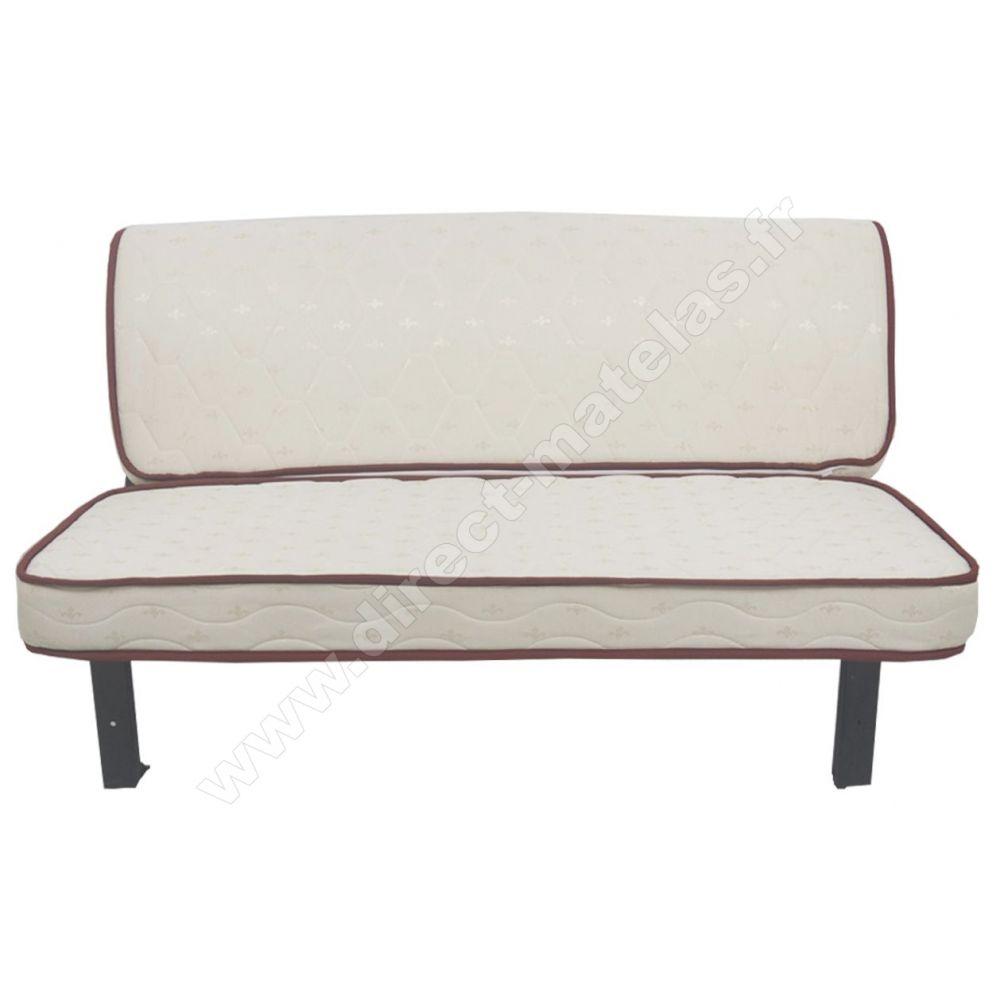 Bz arbol d m couchage 140 tissu rouge for Canape lit facile a ouvrir