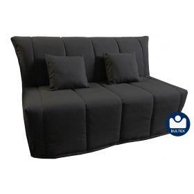 BZ FLORE Couchage 140 - Tissu Noir