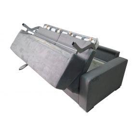 Canapé convertible D.M. MICHEL Micro Gris Foncé