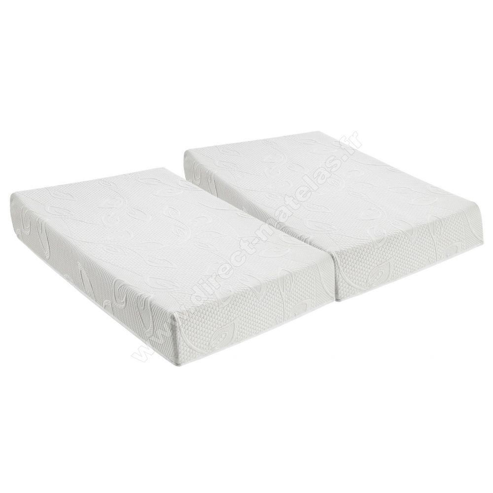 matelas direct matelas memoty 2x90x200. Black Bedroom Furniture Sets. Home Design Ideas
