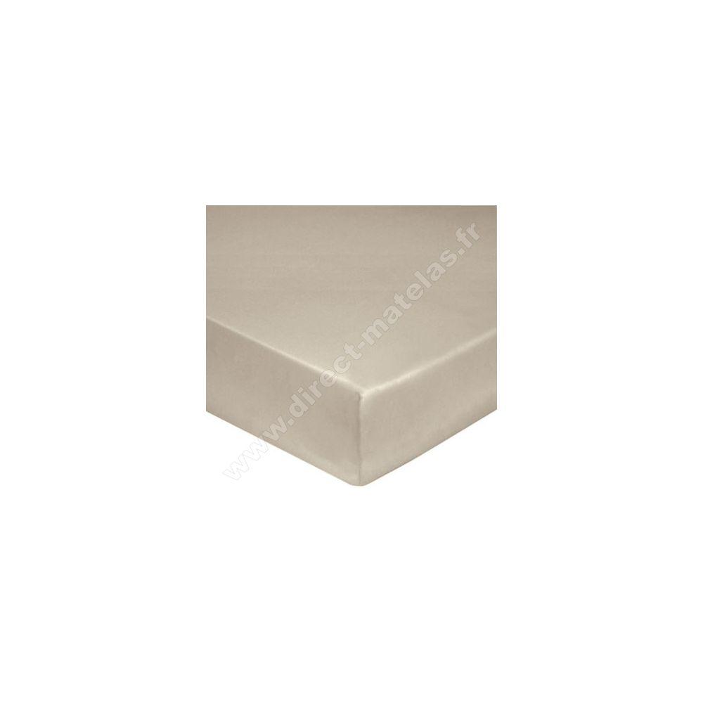 drap housse sp ciale grande paisseur blanc des vosges chanvre 140x190. Black Bedroom Furniture Sets. Home Design Ideas