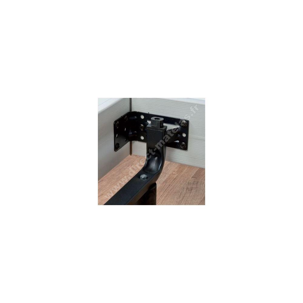 sommier relaxation lectrique d m eternel gris cendr 2x80x200. Black Bedroom Furniture Sets. Home Design Ideas