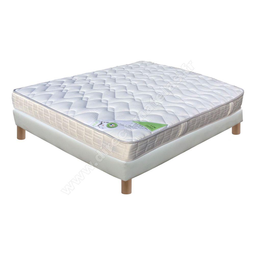 pack 140x190 matelas direct matelas 100 latex lo sommier d m solux tapissier lattes. Black Bedroom Furniture Sets. Home Design Ideas