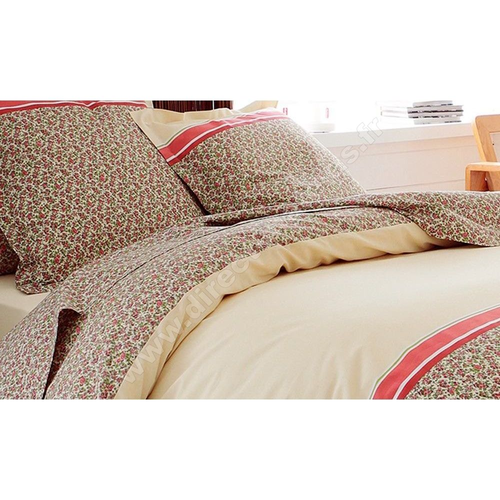 parure cabotine 3 pi ces tradilinge housse de couette. Black Bedroom Furniture Sets. Home Design Ideas