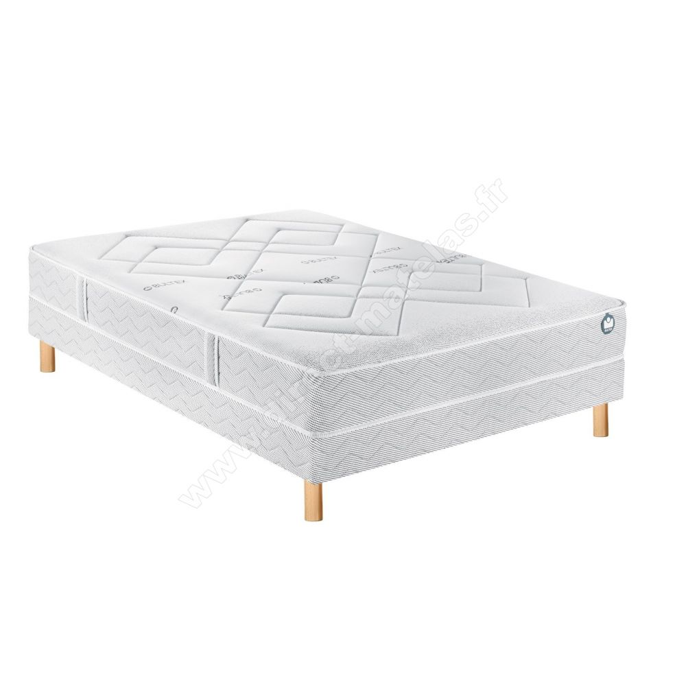 sommier plus matelas 160x200 hbedding ensemble matelas mmoire sommier x grand hotel mousse. Black Bedroom Furniture Sets. Home Design Ideas