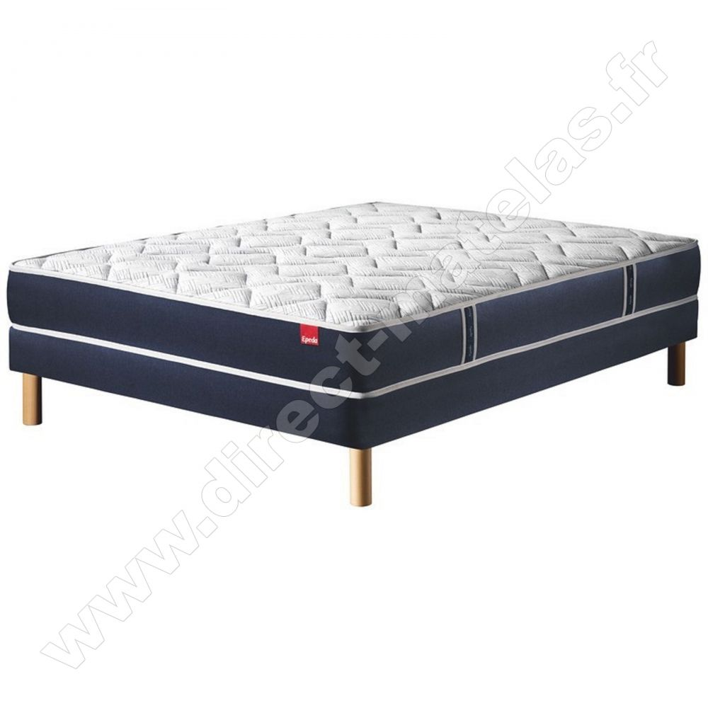 matelas epeda multispires multizones 90x200 sommier epeda ouatine ferme pieds de lit. Black Bedroom Furniture Sets. Home Design Ideas