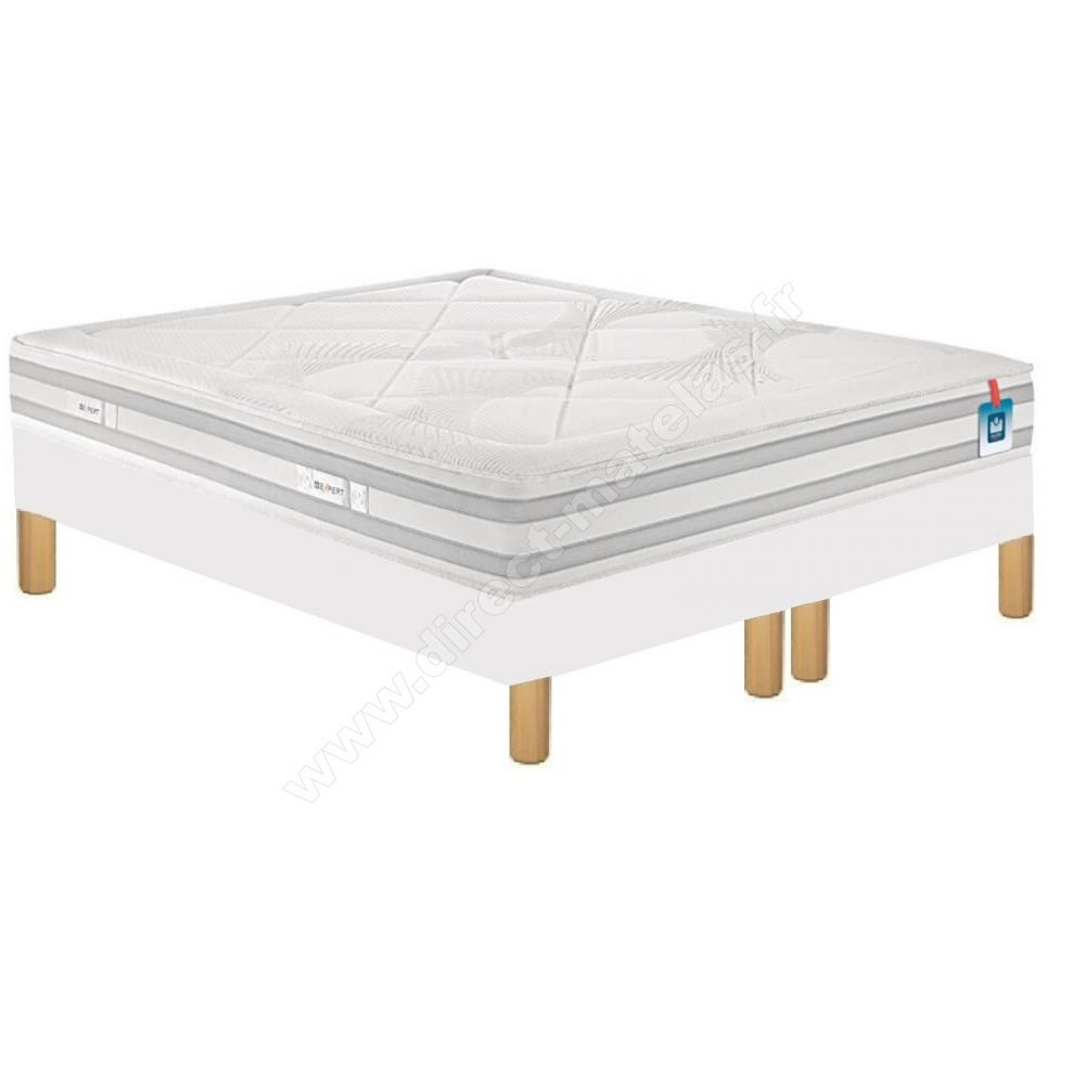 matelas bultex very sommier d m solux tapissier lattes pieds de lit cylindriques. Black Bedroom Furniture Sets. Home Design Ideas