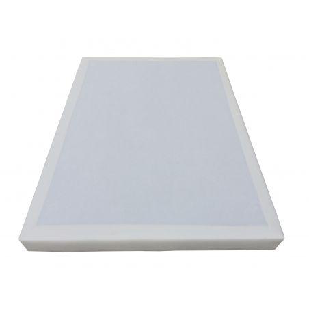 Pack 90x190 : Matelas EPEDA LR + Sommier D.M. SOLUX Tapissier lattes + Pieds de lit Cylindriques