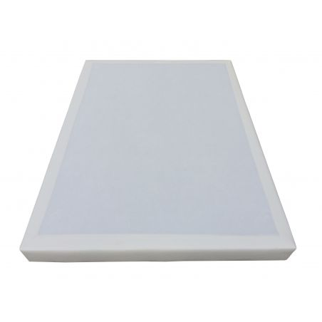 Pack 180x200 : Matelas DM ELITE + Sommier D.M. SOLUX tapissier lattes + Pieds de lit Cylindriques