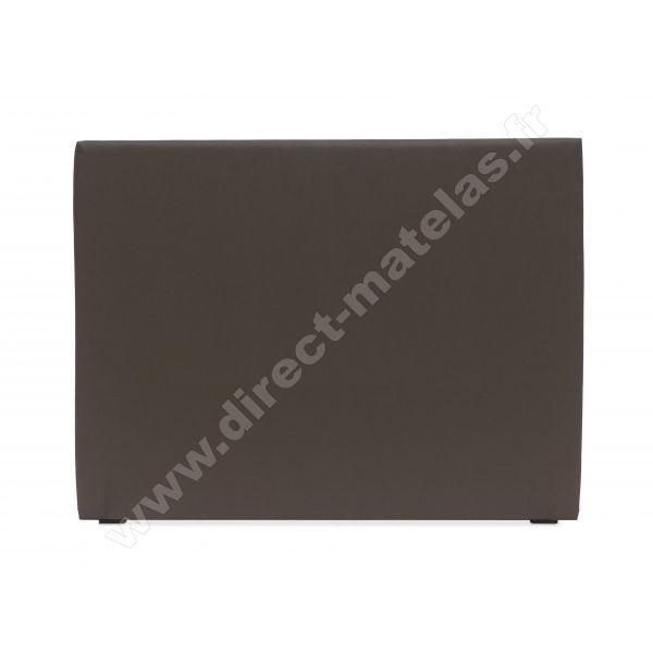Tête de lit D.M. STREET Look Cuir Noir - Largeur 160