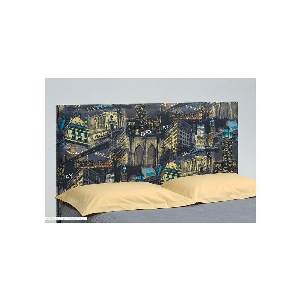 t te de lit originale brodway d m 180. Black Bedroom Furniture Sets. Home Design Ideas