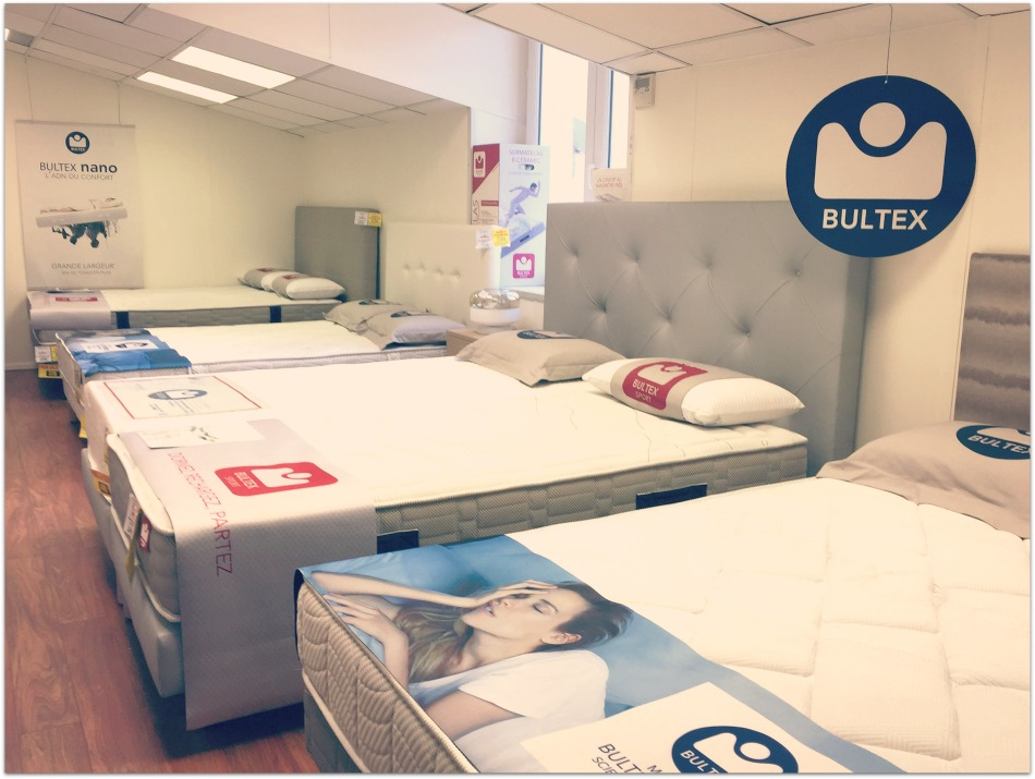bultex sport une collection propos e par direct matelas direct matelas. Black Bedroom Furniture Sets. Home Design Ideas