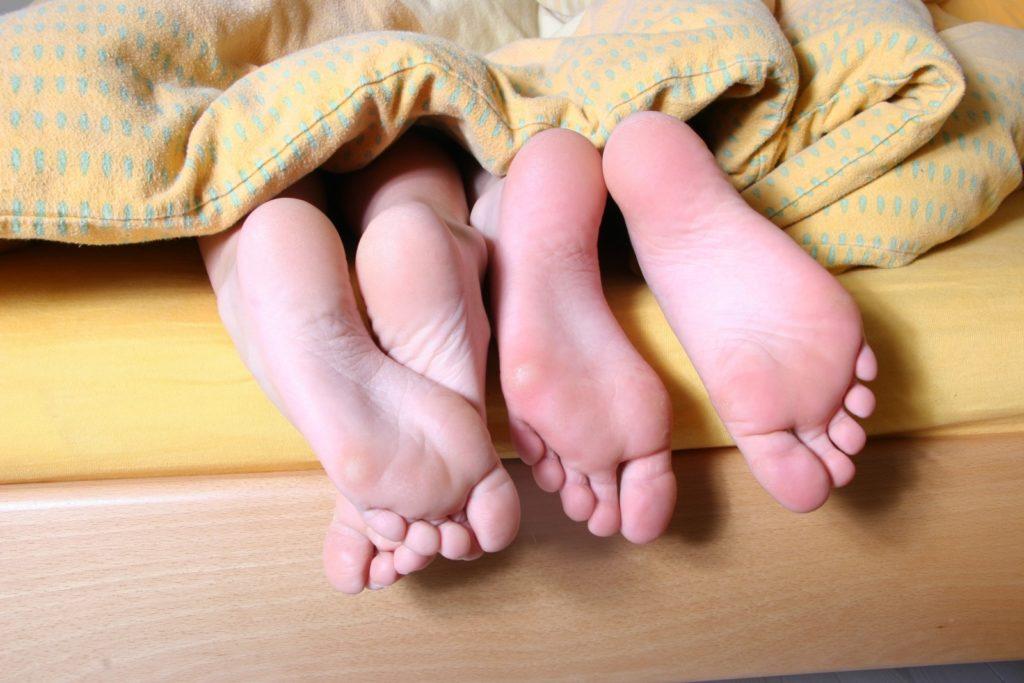 Des pieds heureux !